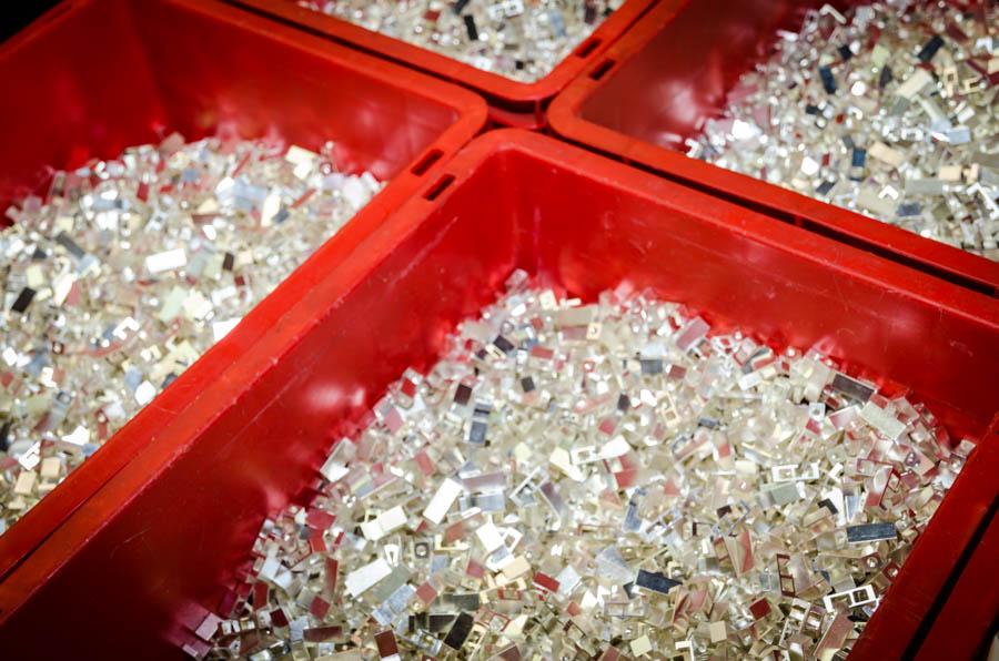 Silber und Versilbern
